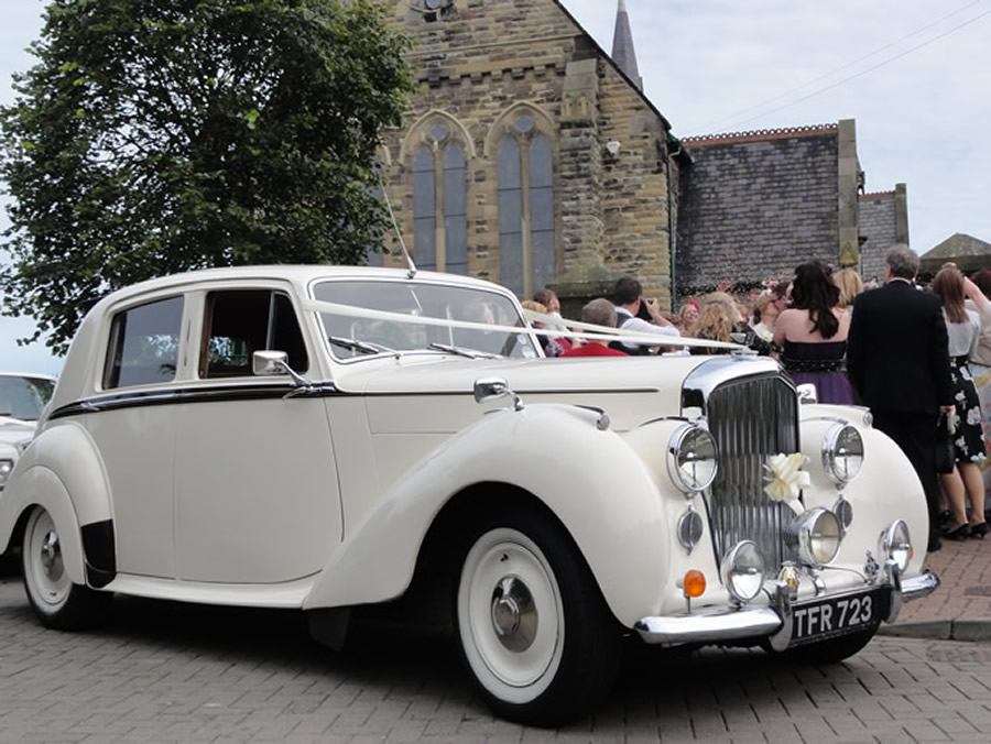 Vintage Bentley Classic Wedding Car hire Washington Sunderland