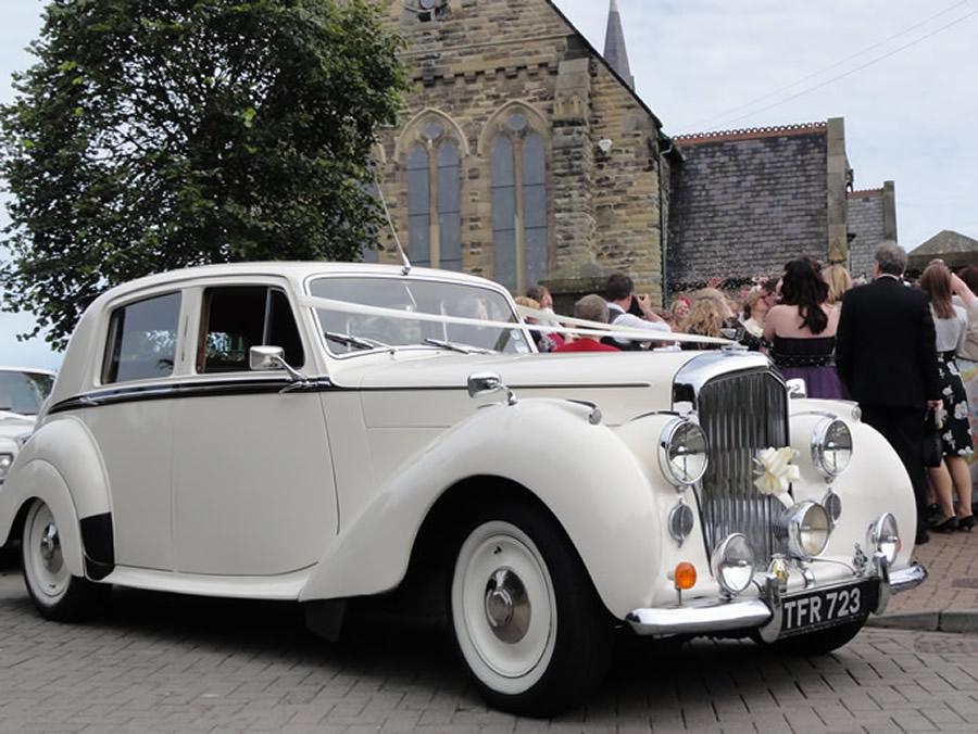 Classic 1949 Ivory Bentley Wedding Car - ATW Wedding Cars