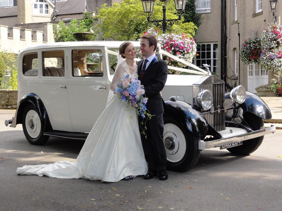 Vintage Rolls Royce Limousine For Weddings In North East