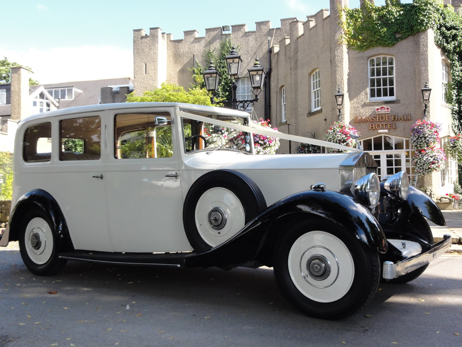 Rolls Royce Wedding Car in Durham Ramside Hall
