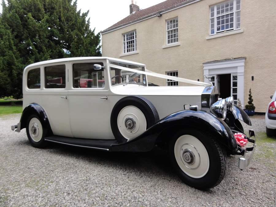 Vintage Rolls Royce Wedding Hire 81