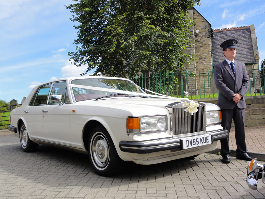 Rolls Royce Silver Spirit Wedding Car