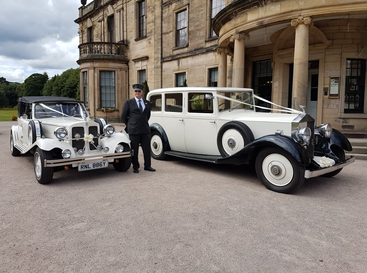 Beamish Hall Wedding Car