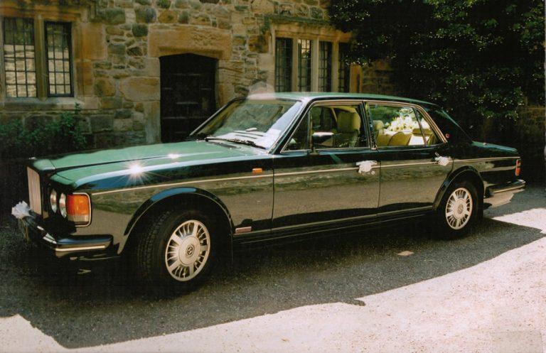 Bentley Grooms Car